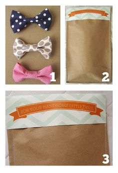 Bow Ties..{tutorial and free download}