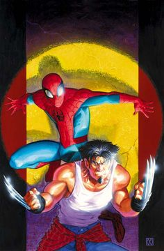 ULTIMATE MARVEL: SPIDER-MAN & WOLVERINE #1 matt wagner