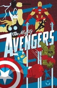 The Avengers by MikeMahle.deviantart.com on @DeviantArt