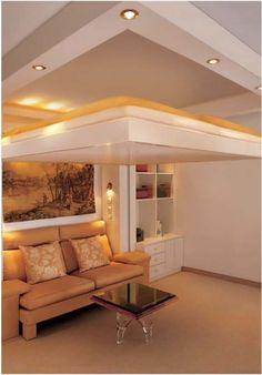 built into ceiling beds space saving retractable beds for small spaces small rooms ceiling and small spaces