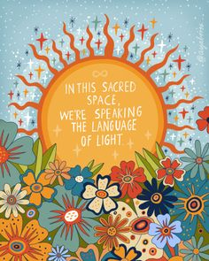 The language of light Mini Art Print by Asja Boros - Without Stand - 3 Psy Art, Happy Words, Hippie Art, Art Journal Pages, Mellow Yellow, Wall Collage, Law Of Attraction, Art Inspo, Aesthetic Wallpapers
