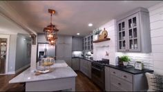 HGTV's Fixer Upper: Carriage House Kitchen