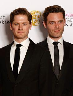 Kyle Soller (Francis) and Luke Norris (Dr. Enys) - Poldark