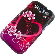 Purple #Heart Protector Case for #Samsung Galaxy S III $9.99 From #DayDeal