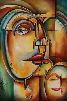 Look Painting by Michael Lang - Look Fine Art Prints and Posters for Sale