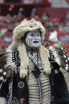 John Keel of the Comanche Tribe participates in the Red Earth Festival in Oklahoma City.