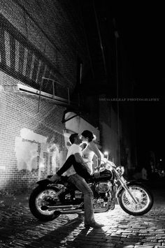 Passion...great wedding or engagement photo Harley-Davidson of Long Branch
