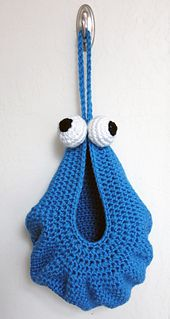 Ravelry: Hanging Monster Baskets pattern by Deja Jetmir
