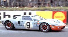 Las 24 horas de Le Mans en 1968 - Ford GT40 #9 - Lucien Bianchi con Pedro Rodriguez