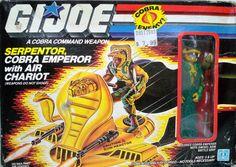 Gi Joe: Serpentor and Chariot
