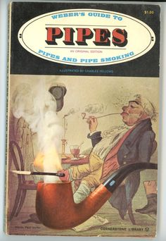 Weber's Guide to Pipes Carl Weber book history smoking collecting