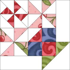 Block 5 by Piecemeal Quilts, via Flickr