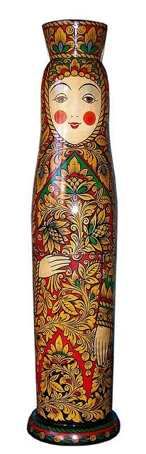 Tall Matryoshka Doll. http://www.pinterest.com/MatryoshkasSoap/one-of-a-kind-matryoshka/