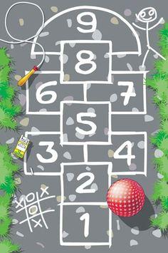 Dětský koberec Hrací koberec Panák 1001300 - koberec č.1