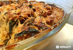 Spaghetti tetrazinni Jamie Olivertől | NOSALTY Gnocchi, Lasagna, Macaroni And Cheese, Spaghetti, Chicken, Meat, Cooking, Ethnic Recipes, Food