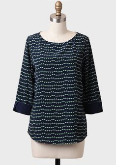 In Celebration Triangle Printed Blouse at #Ruche @Ruche