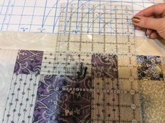 52 Quilts in 52 Weeks: Tuesday Tute: Lining Up Sashing