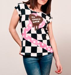 "I´m Choco-late      (T-Shirt Sweet Lucia ""One"")"