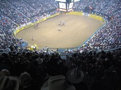 National Finals Rodeo at the   Thomas Mack Arena, Las Vegas,NV. Love love love! It's seriously my addiction :)