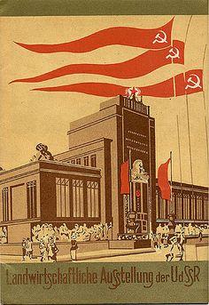 Landwirtschaftliche Ausstellung der USSR.
