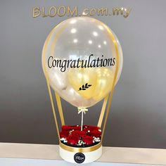 2019 Graduation Personalized Favors Candle Holder Party Decor Hot Air Balloon 50 Engraved Glass Guest Keepsake Custom Memento