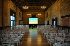The Granary Barn set up for a Savills Conferences. #TheGranaryBarn #TheGranaryEstates #Savills