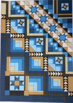 Here some some suggestions for the cutting of the 2015 Cabin Fever Shop Hop Anniversary Progressive Quilt. The breakdown of each part of the quilt is simple and makes the quilt much easier to make …