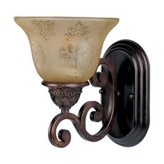 Maxim Lighting 11230S Symphony Wall Sconce, Oil Rubbed Bronze