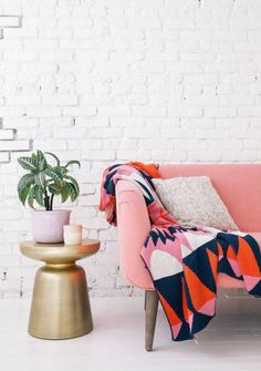 How to Work the Pantone Palette Florabundant into Your Home via Brit + Co