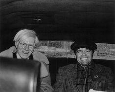 Andy Warhol and Jack Nicholson