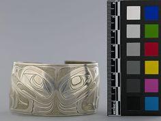 Charles Edenshaw, Haida. Thunderbird bracelet, c. 1880. Museum of Anthropology at UBC
