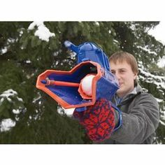 WHAM-O SnowBall Blaster, where was I when this was made?!?