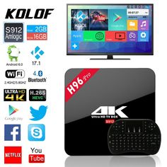 H96 PRO Android 6.0 S912 2G / 16G KODI TV BOX WIFI 4k Media Player + i8 Keyboard  http://searchpromocodes.club/h96-pro-android-6-0-s912-2g-16g-kodi-tv-box-wifi-4k-media-player-i8-keyboard/