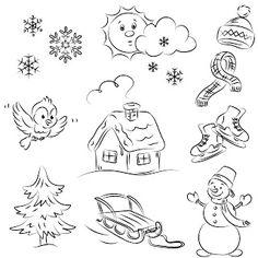 Free Digi Stamps   Winter
