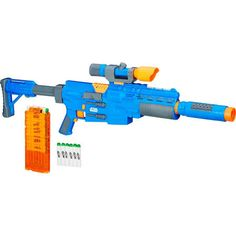Star Wars Rogue One Nerf Captain Cassian Andor Deluxe Blaster Roleplay Toy Gun Megalodon, Nerf Snipers, Nerf Storage, Arma Nerf, Cool Nerf Guns, Nerf Mod, Nerf Party, O Pokemon, Weapon Concept Art