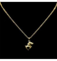 66 best pendants images on pinterest in 2018 chains plating and gold plated link chain with small goat pendant aloadofball Choice Image