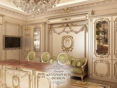 Дизайн кухни в классическом стиле:
