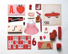 red pink collection