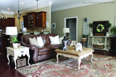 Traditional Rustic Living Room Tour | The Hamby Home