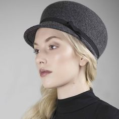 Holmes | Vintage Style Wool Cap by Maggie Mowbray Millinery designed in United Kingdom