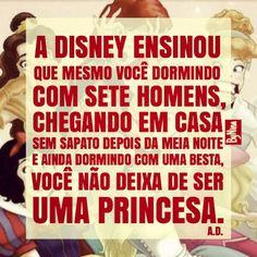 Graças à Disney, muitas pessoas encontraram seu par, e nem precisaram ficar com a consciência intranquila