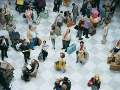 Alex Prager – Photography & Films. Fantastic series of densely populated staged portraits.