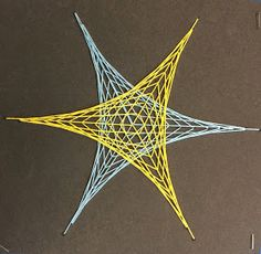 Just some of the cool string art designs my students created!