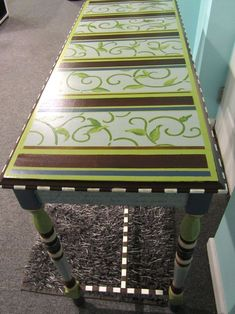 Funky Hand Painted Furniture | Becolorful: Painted furniture