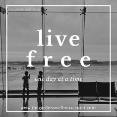 Forget about yesterday because it is no longer here, and why think of tomorrow when it has yet to come. Make this moment all that you live for because it is all you have. #livefree