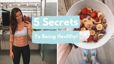5 SECRETS TO BEING HEALTHY! | CARLYROWENA - YouTube