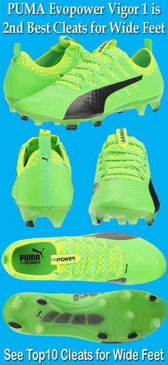 9a331ce1933 PUMA Men s Evopower Vigor 1 FG Soccer Shoe is one of the best cleats for  wide feet players. Watch This reviews of best cleats for wide feet.