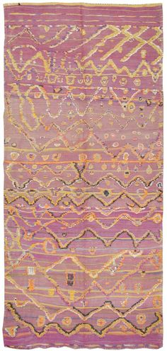 another amazing antique moroccan rug. this site is killing me. want 'em all.