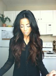dark ombre :)  Im seriously considering doing this to my hair now!