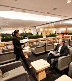 Qantas unveils new Singapore Lounge